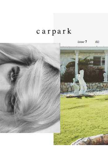 carpark magazine isuue 7 cover